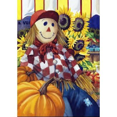 Kiosque de ferme d'automne