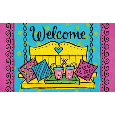 """Tapis décoratifs 30"""" x 18"""" Porch Welcome"""