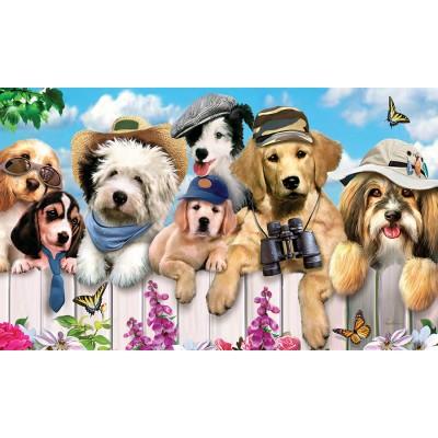 "Tapis décoratifs 30"" x 18"" Dapper Dogs"