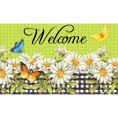 """Tapis décoratifs 30"""" x 18""""  Daisies & Butterflies"""