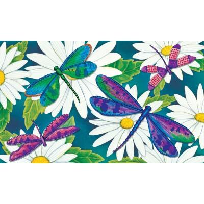 """Tapis décoratifs 30"""" x 18"""" Dragonflies"""