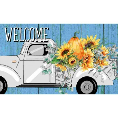 """Tapis décoratifs 30"""" x 18"""" Floral Truck"""