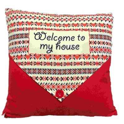 Coussin Welcome to my house