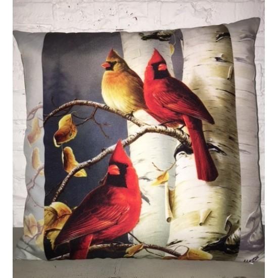 Coussin fait de polyester pour l'intérieur ou l'extérieur /Cardinal