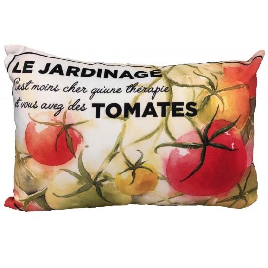 Coussin Le jardinage Tomates