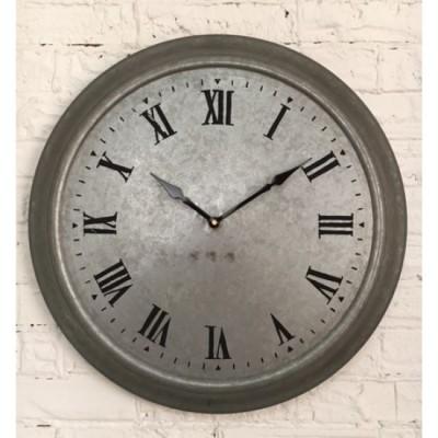 Horloge de Métal Galvaniser /47x9x48