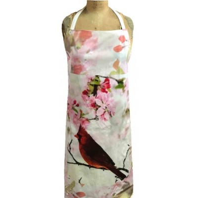 Tablier  100 % Cotton Cardinal Fleurs