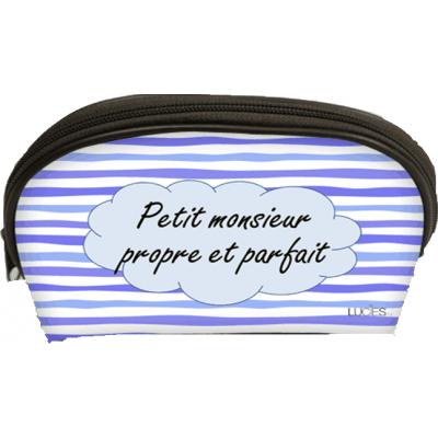 Trousse /Petit Monsieur propre et parfait/ 26,5x12,5x16cm