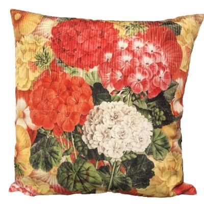 Coussin fait de polyester pour l'intérieur ou l'extérieur /Hortensia
