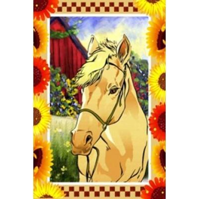 Drapeaux décoratifs 28 x 40 pouces, Cheval de campagne
