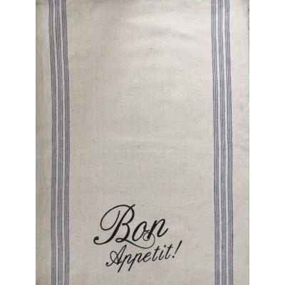 """Linge à vaisselle  Bon appetit! 19"""" x 27""""  80% cotton , 20% polyester et autres"""
