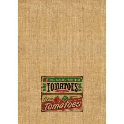 Linge à Vaisselle  100 % Cotton  Tomatoes