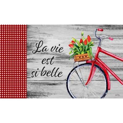 """Tapis décoratifs 30"""" x 18"""" La vie si belle Tulipe"""