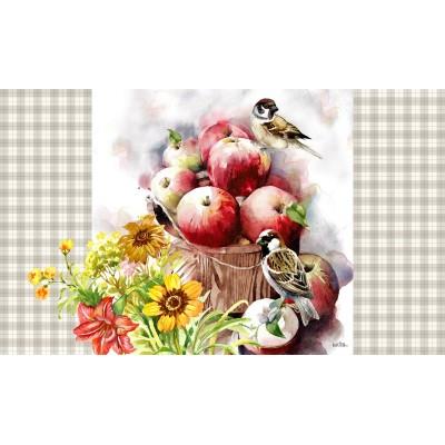 "Decorative Mat30"" x 18"" Apple Land"